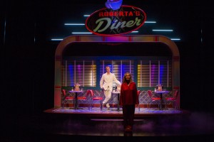"""Stephen Ellis and Linda Gerhinger in """"Going to a Place Where You Already Are )World Premiere, South Coast Repertory)"""
