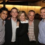 Stephen Ellis, Monica Horan, Phil Rosenthal, Neel Keller, and Erik Lopez