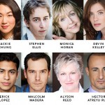 The cast of Different Words for the Same Thing by Kimber Lee at CTG/Kirk Douglass Theater May 2014