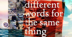 Different Words Logo