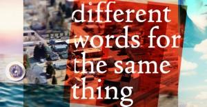 Different Words Logo