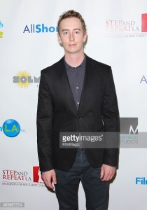"Stephen Ellis arrives at the TCL Chinese Theater in Los Angeles for the premiere of ""A Reasonable Request."""